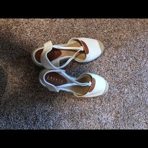 Women's size 6 wedges - excellent condition!